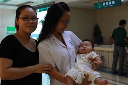 焦作多囊卵巢女3年无子,治好3个月有孕现生男宝宝